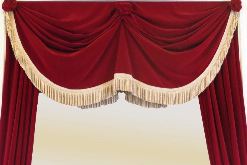 klappbare gardinenstange